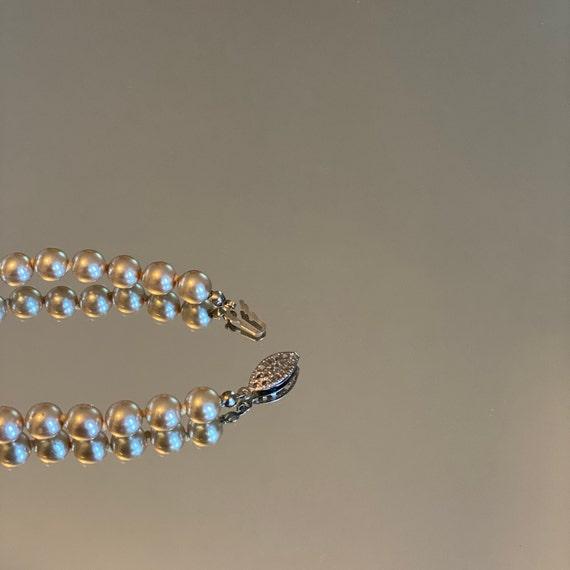 Pearl Bracelet Vintage Faux - image 2