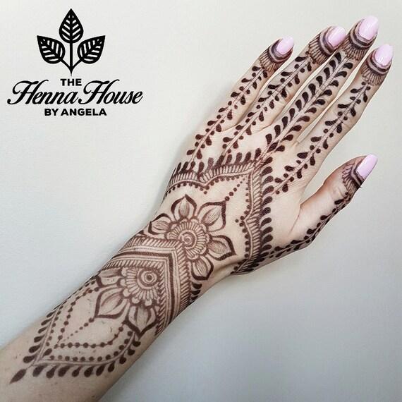 Five 50 Jagua Henna Cones Hengua Etsy