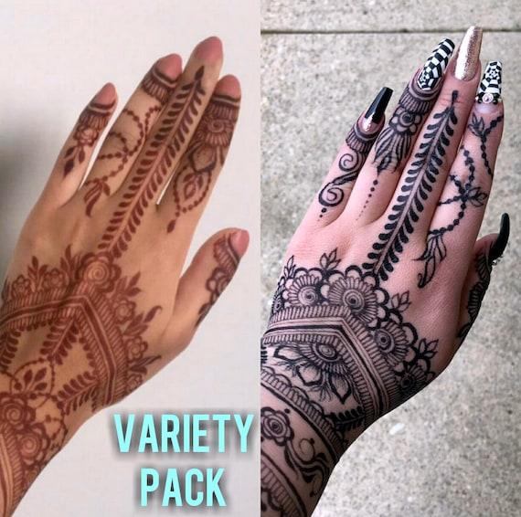 bd73567b8 Two 100% Jagua Henna Cones & Three Henna Cones | Etsy
