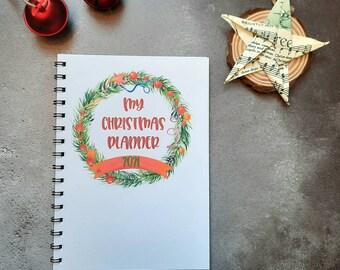 Christmas Planner Book 2021
