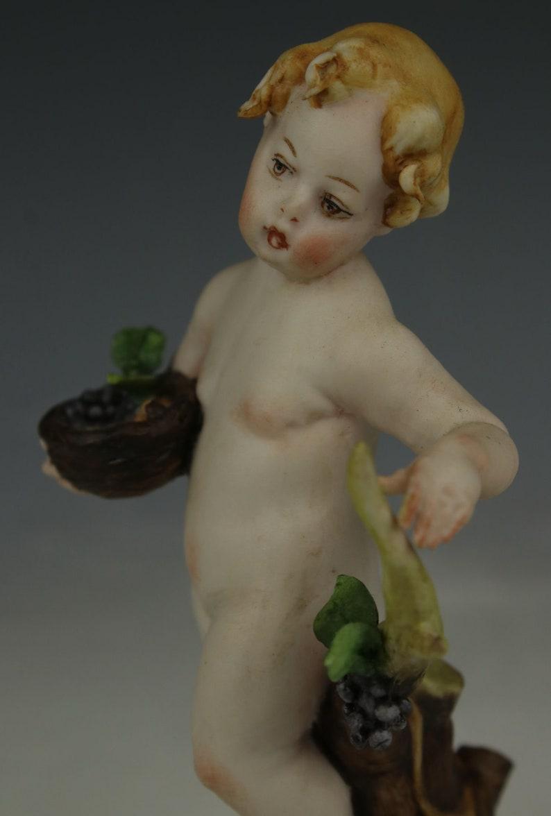Capodimonte Tiche Figurine Autumn