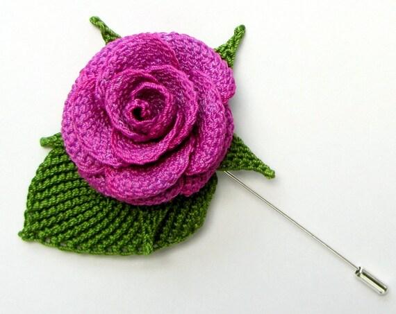 Crochet Flower Pattern Pdf Realistic Crochet Rose Tunisian Flower