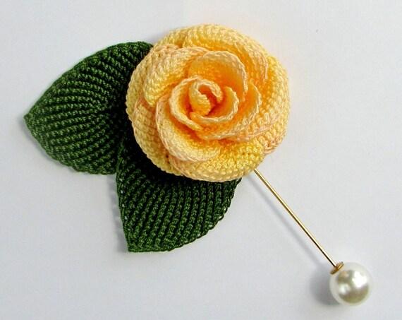 Crochet flower pattern left handed crochet rose tutorial tunisian