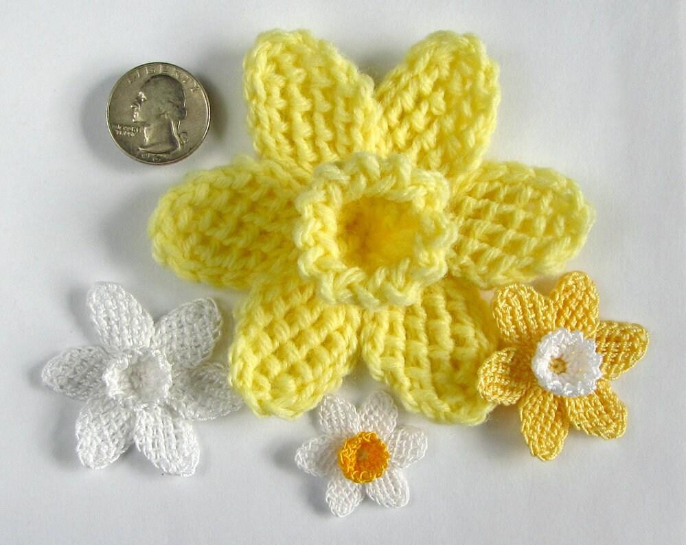 Crochet Flower Pattern Instant Download Pdf Pattern Tunisian Etsy