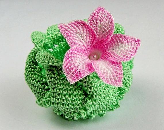 Crochet Flower Pattern Right Handed Crochet Pdf Pattern Etsy