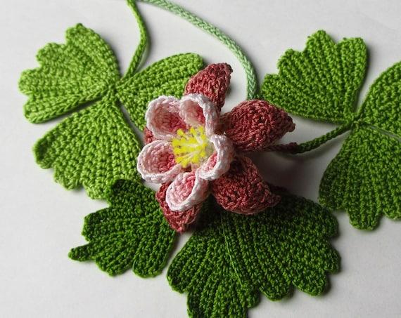 Crochet columbine pattern instant download pdf pattern photo etsy