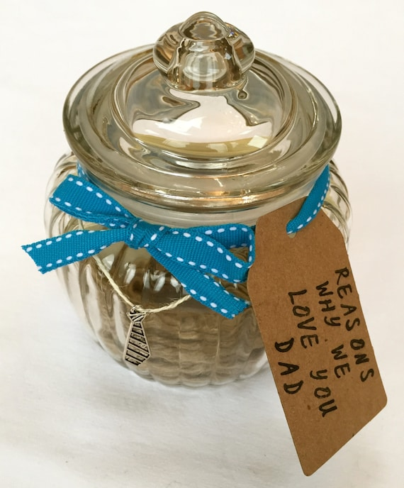 Fathers Day Dad Memory Jar Kit Special Gift For
