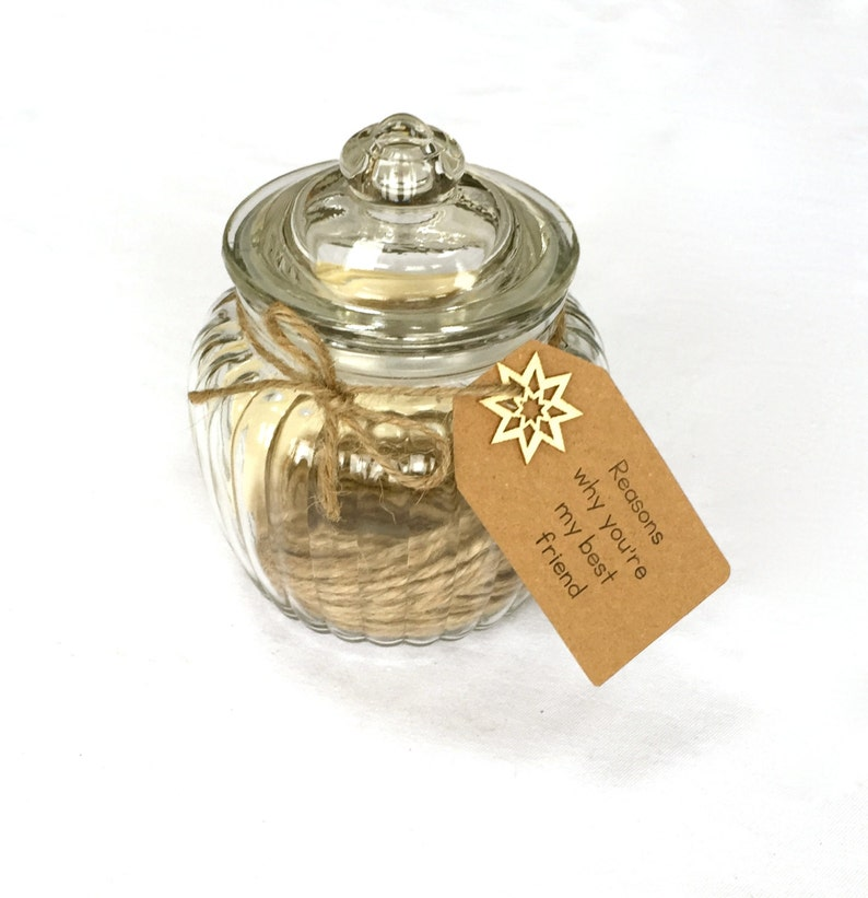 Friend Memory Jar Kits  Gift for a Friend Gift for Her image 0