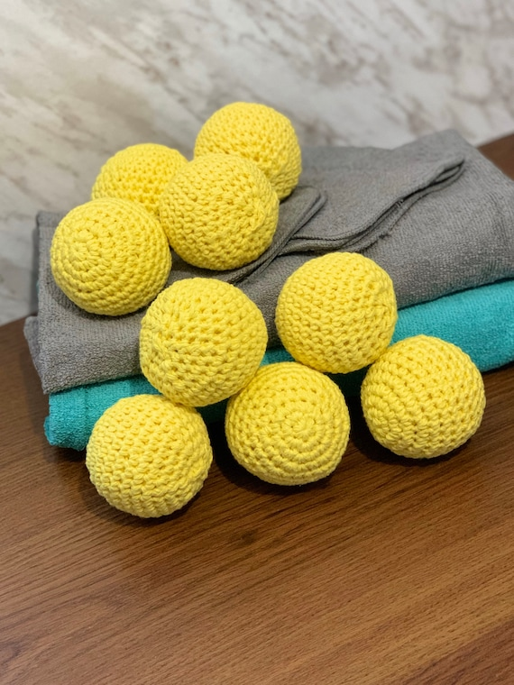 Cotton Dryer Balls - Zero Waste Laundry
