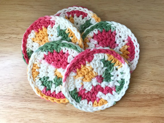 Round Cotton Face Pads, Natural Cleaning Washcloths, Exfoliating Pad, Makeup Remover Cloths, Cotton Makeup Pads, Natural Face Cleaning