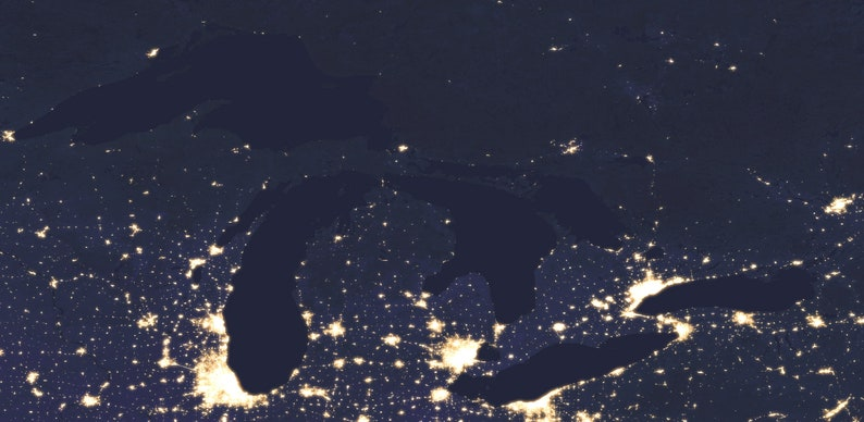 Satellite Map Of Usa At Night on canada at night satellite, world map at night satellite, us map at night satellite,