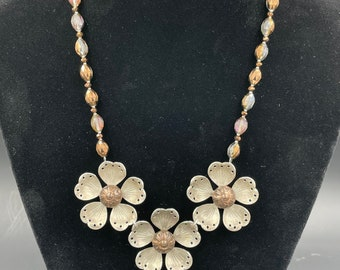 Vintage jewelry upcycle necklace/choker