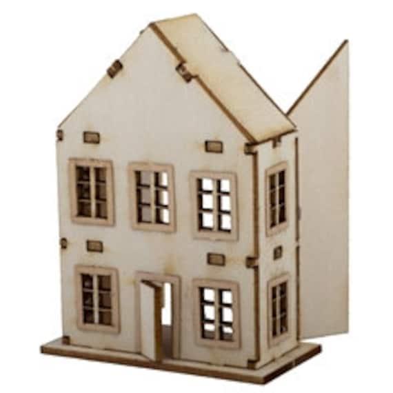 Toy Dollhouse Kit Diy Dollhouse Miniatures Dollhouse Kits Di Ty108