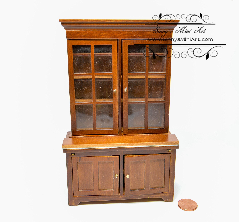 1 12 Dollhouse Miniature Lincoln Bookcase Miniature Furniture Az T6687