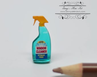 1:12 Dollhouse Miniature Window Cleaner/Miniature Soap HRM 55086