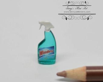 1:12 Dollhouse Miniature Glass Cleanser/Window Cleaner/Miniature Soap HRM 57179