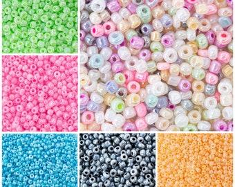 20 g Item SB215 Montana Forest Mix 60 Czech Glass Seed Beads