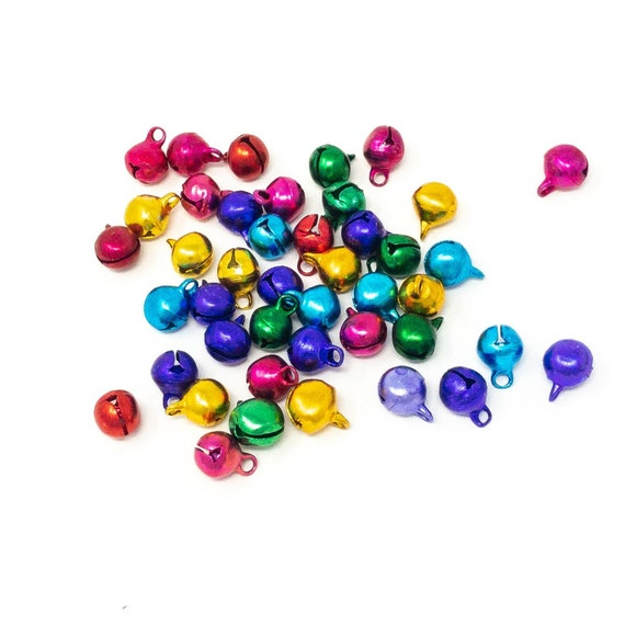 100 x 10mm or 8mm 200 x 6mm Hole 1.5mm Bright Bubblegum Round Acrylic Beads