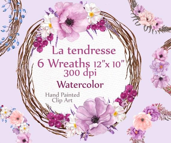 watercolor wedding wreath clipart wreaths clip art wedding rh etsystudio com clipart for wedding invitations borders tree clipart for wedding invitations