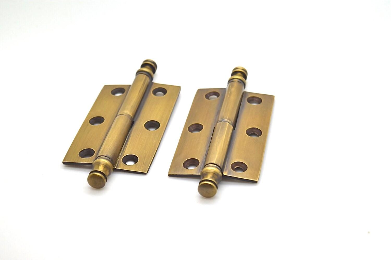 Set aus 2 x 25 Tür Scharniere .brass viktorianischen | Etsy