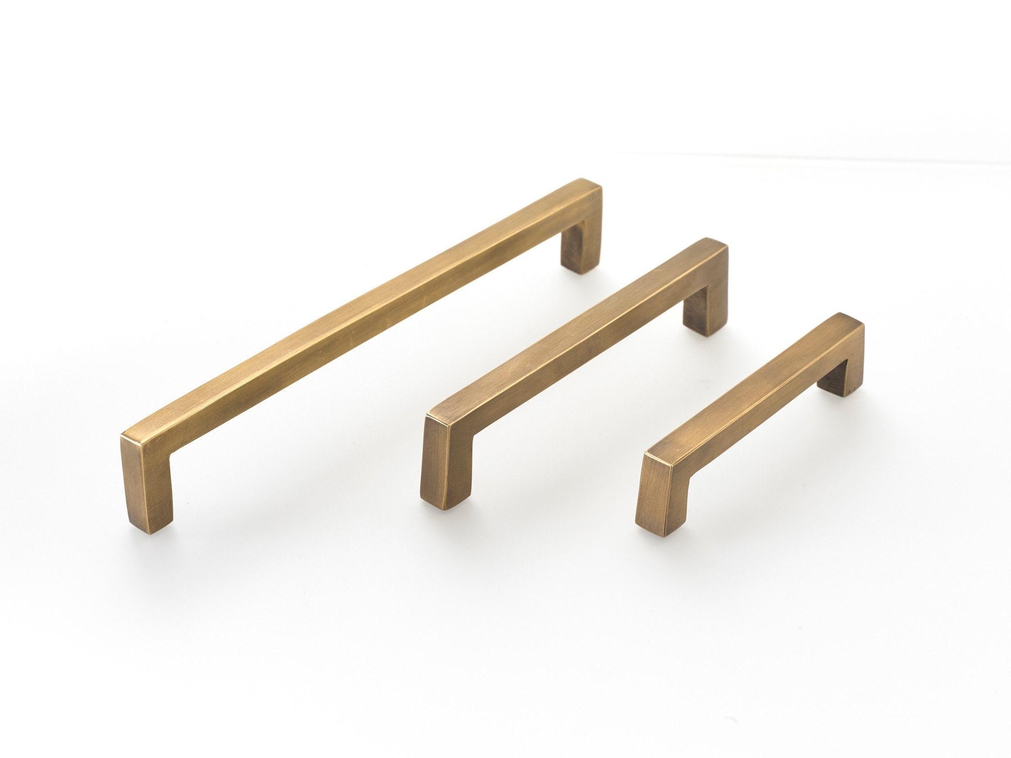 Cupboard draw handles.brass pulls, brass handles, Kitchen handles ...