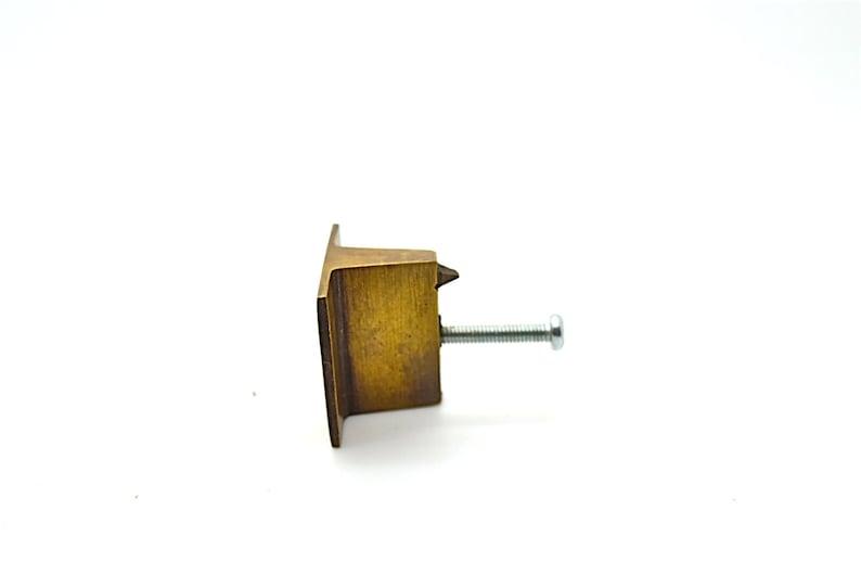 brass pulls,draw pull handle .kitchen handles  industrial cupboard pull handle brass handle pull. Art deco brass drawer knob