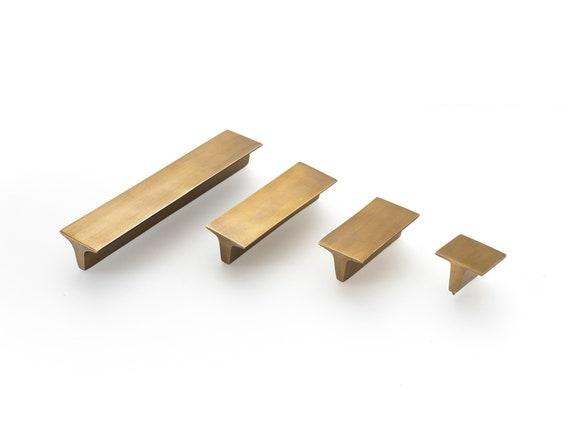 Art-Deco-Messing handles.4 Größen erhältlich Schrank Griffe. | Etsy