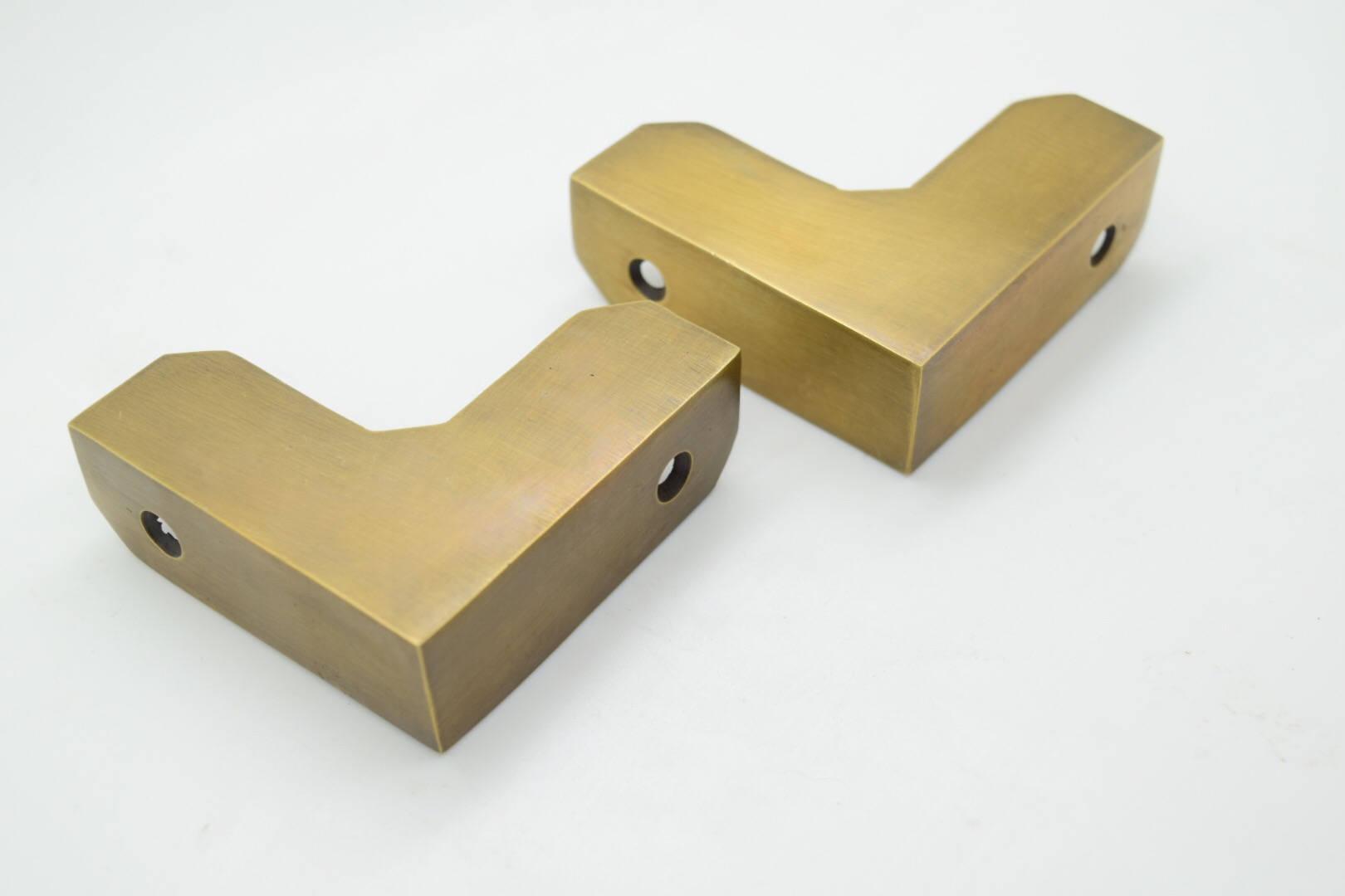 Messing Kanten Ecken. Messing-Hardware. Küche Griffe. Knäufe. | Etsy