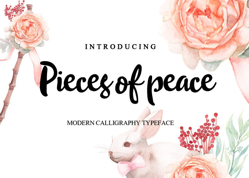 Handwritten font download  modern calligraphy font, Design Font  Convert to  embroidery font  Font for invitations