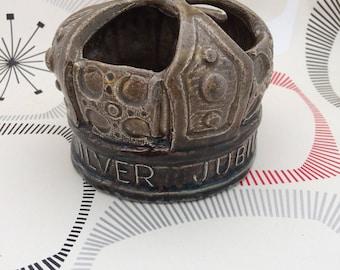 Rectors Pottery Queen Elizabeth 2nd Jubilee Pottery Crown