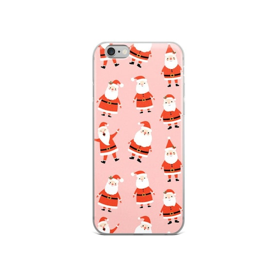 Christmas Iphone X Case.Christmas Iphone X Case Cute Santa Iphone 7 Plus Case Kawaii Santa Claus Iphone 8 Plus Case Winter Iphone 6 Plus 6s Case Holiday Xs Max Xr