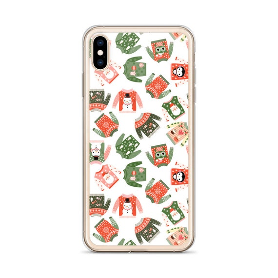 Christmas Iphone X Case.Christmas Iphone X Case Cute Winter Holiday Iphone 7 Plus Case Ugly Christmas Sweater Iphone 6 Plus Case Kawaii 8 Plus 6s Plus Xr Xs Max