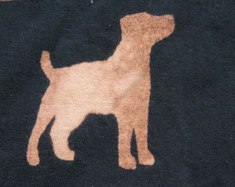 Dog T-shirt Adult Unisex - Crew Style Labrador with customisable to your dog