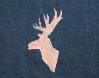 Stag Animal T-shirt Adult Unisex - Crew Style