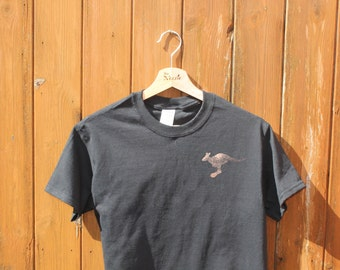 Kangaroo Animal T-shirt Adult Unisex - Crew Style