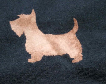 Dog T-shirt Adult Unisex - Crew Style Terrier with customisable to your dog