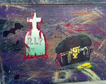 Spooky, Scary Halloween Box Decor