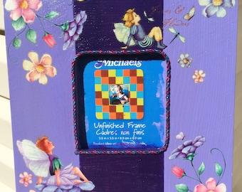 Purple Fairy Picture Frame