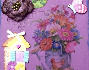 Garden Storage Box Decor