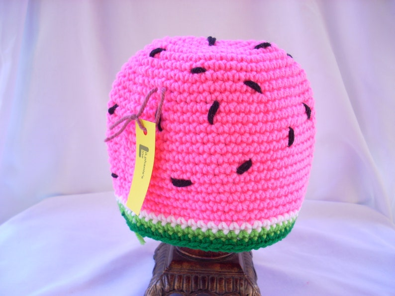 Crochet Summer Fruit Food Beanie Bright Child Watermelon Hat