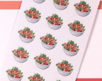 Salad Planner Stickers