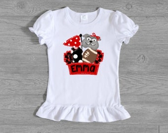 Dawgs Football Shirt - Personalized Name  - Toddler and Youth