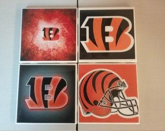 Cincinnati Bengals coaster set
