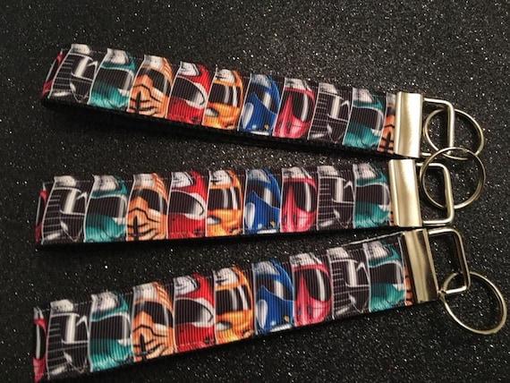 FOB Keychain Wristlet Keychain Grosgrain Ribbon 2 Styles Mickey Mouse Keychain - Mickey Keychain - Disney Mickey Mouse Doony