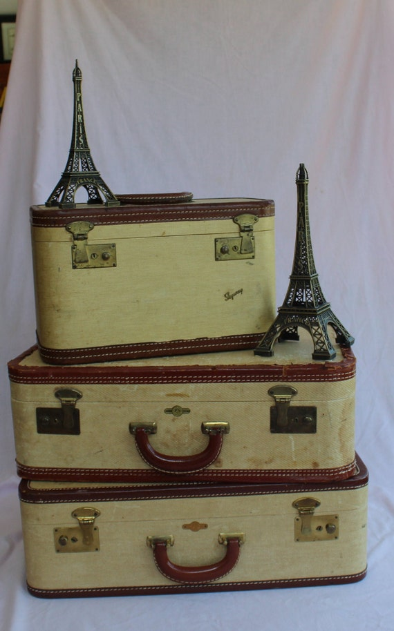 Vintage Skyway Train Case in Luggage