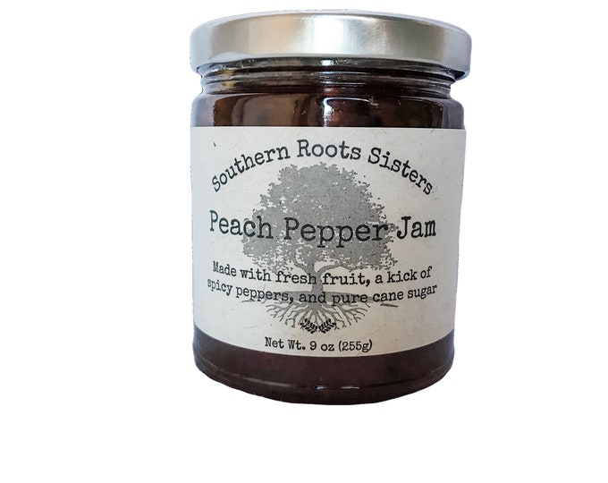 Featured listing image: Peach Pepper Jam
