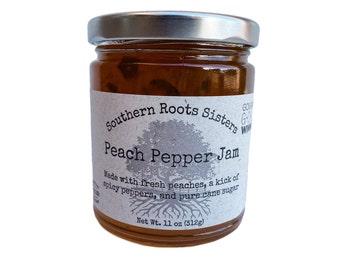 Peach Pepper Jam