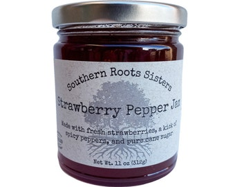 Strawberry Pepper Jam
