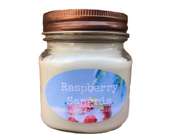 Raspberry Sangria Soy Candle