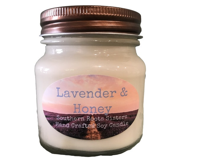 Lavender & Honey Soy Candle